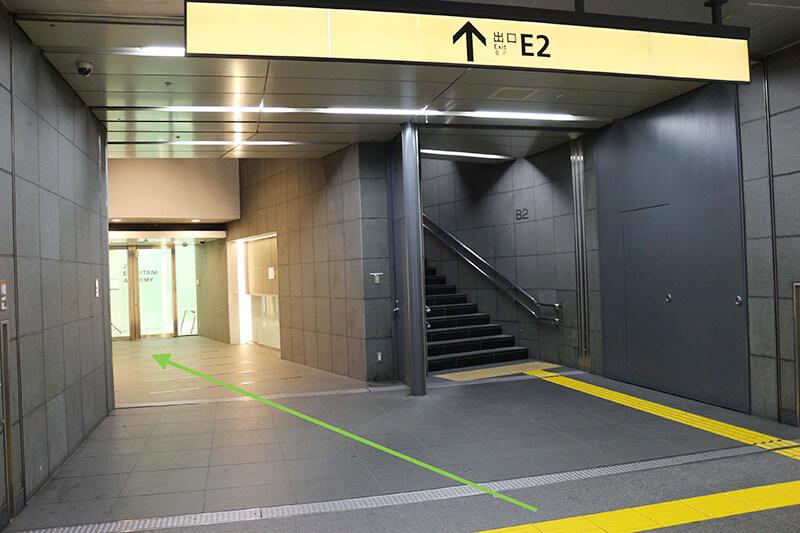 新宿駅からスタジオへのアクセス5