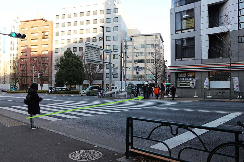 新宿駅からスタジオへのアクセス6