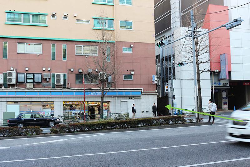 新宿駅からスタジオへのアクセス7