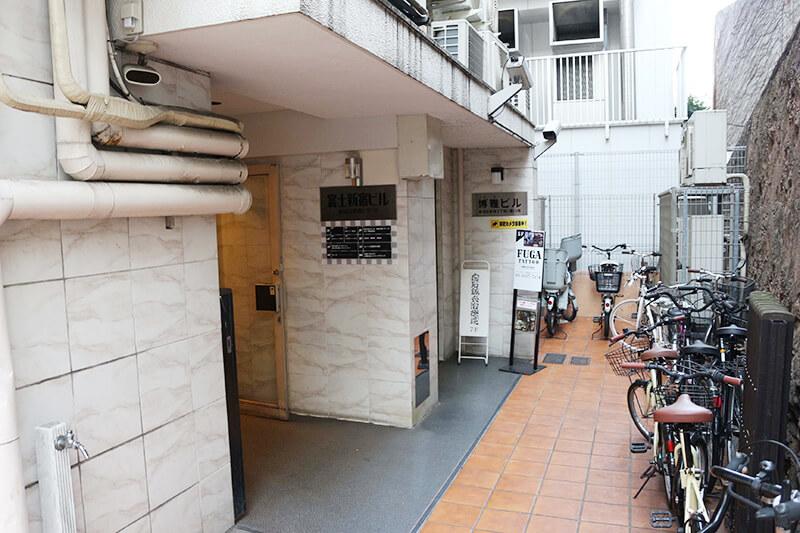 新宿駅からスタジオへのアクセス8