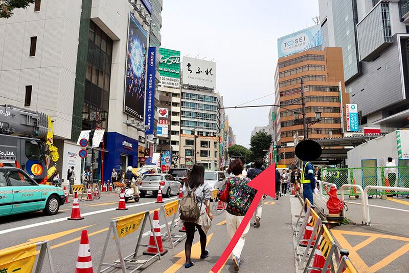 渋谷駅からスタジオへのアクセス3