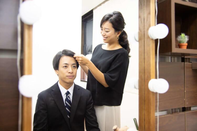 男子の就活証明写真にはどんな髪型が適しているの?プロのヘアメイクが全てご紹介します!