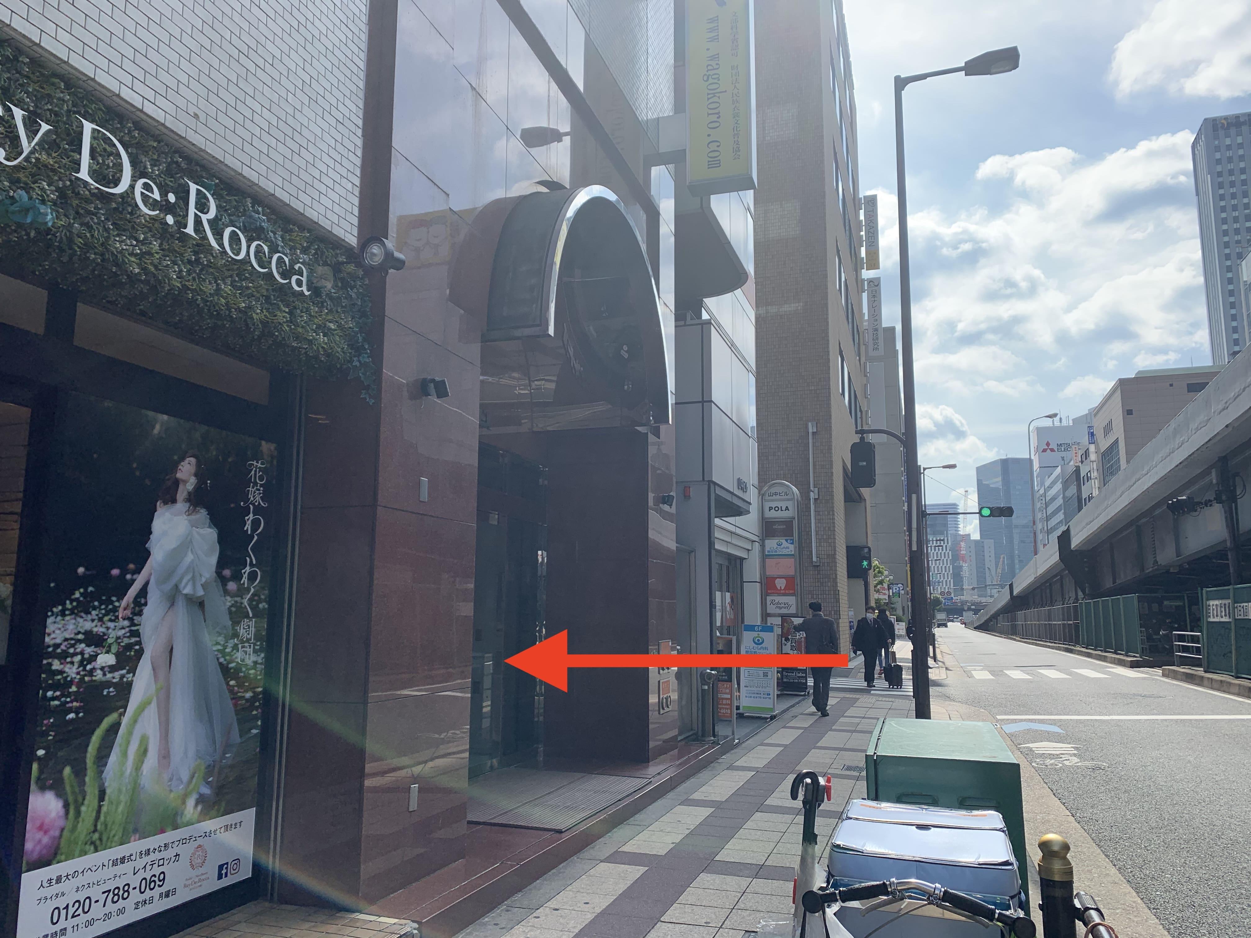 御堂筋線中津駅から スタジオインディ大阪梅田スタジオへの アクセス6
